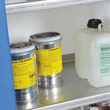Armarios para productos corrosivos