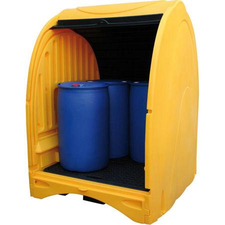 Box exteriores para bidones y GRGs