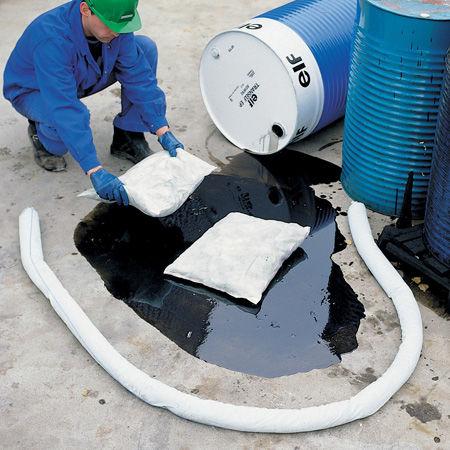 Cojines absorbentes para hidrocarburos y derivados