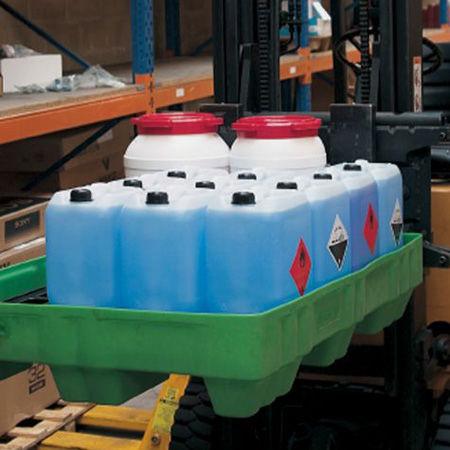 Cubetas de plástico para pequeños recipientes