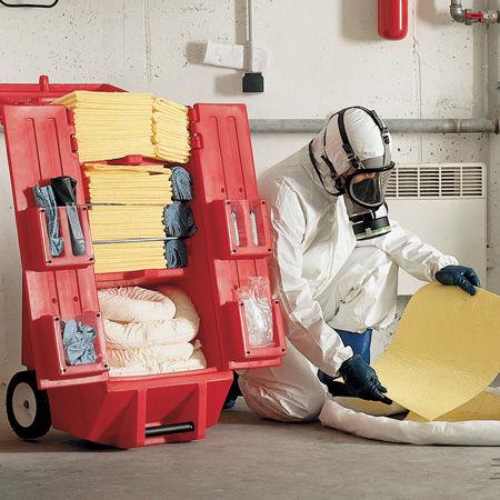 Kits de emergencia para líquidos peligrosos