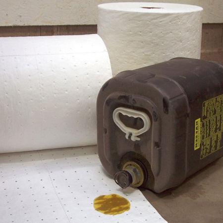 Rollos absorbentes para hidrocarburos y derivados