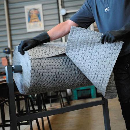 Rollos absorbentes industriales