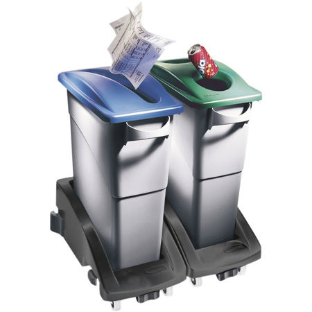 Soportes para bolsas de separación de residuos