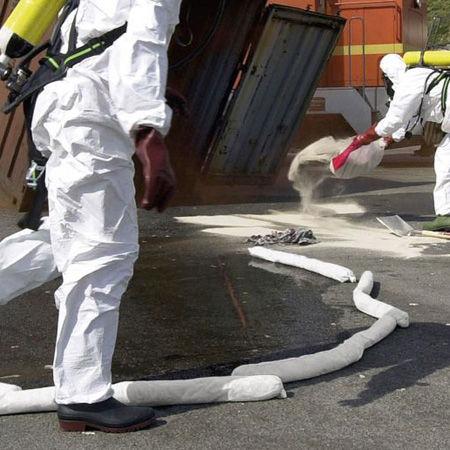 Tubulares absorbentes para hidrocarburos