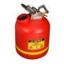 Bidón de seguridad para productos corrosivos inflamables