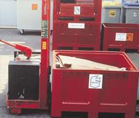 Contenedores para componentes Haleco