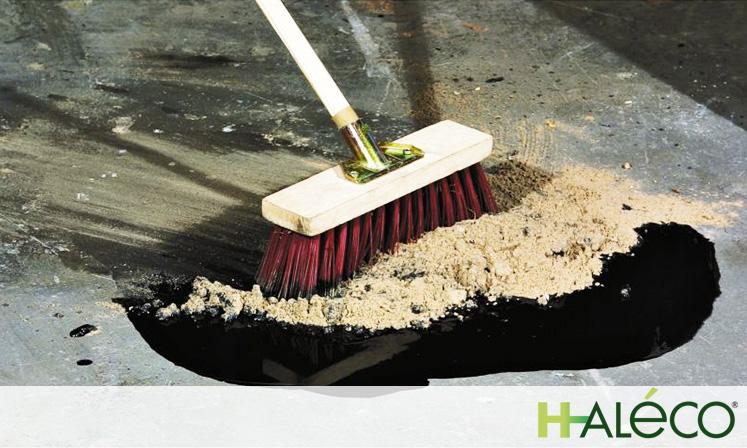 Como usar un absorbente en polvo | Haleco