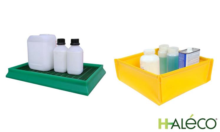 Cubetas de polietileno para laboratorios | Haleco