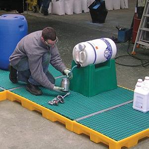 Plataformas de trabajo de polietileno | Haleco