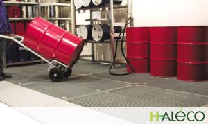 Plataformas de trabajo de acero | Haleco