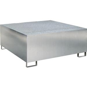 Cubetas de acero galvanizado para contenedores