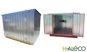 Almacenamiento con seguridad 05 | Armarios de exterior | Haleco