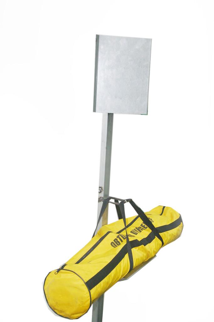 Poste para placa de obturación 001 | Haleco