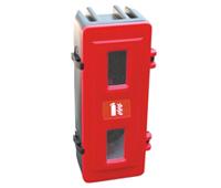 Cofre para extintor con apertura frontal 01 | Equipamiento contra incendios | Haleco