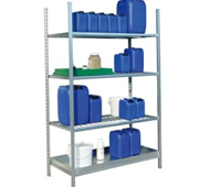 Estanterías y armarios para productos inflamables 01 | Equipamiento contra incendios | Haleco