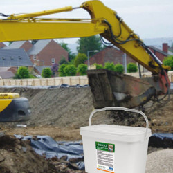 Absorbentes para bioremediación del suelo