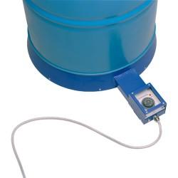 Base calefactora para bidones 01 | Promoción mantas para bidones y contenedores | Haleco