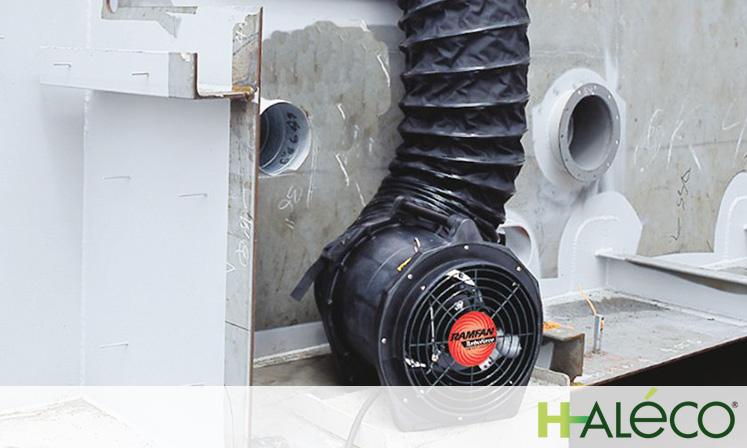 Ventiladores extractores portátiles 01 | Haleco