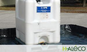 Haleco: almacenamiento provisional de sustancias