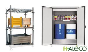 6 consejos para ordenar recipientes peligrosos | Haleco Iberia