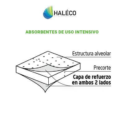 Absorbentes de uso intensivo | Haleco