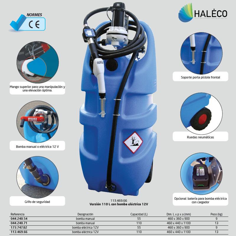 Bidón de transporte en polietileno para AdBlue |Haleco