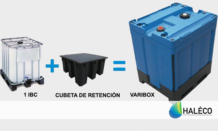 Varibox, 1 tanque de retención con triple funcionalidad