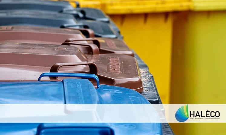 Apuesta por las papeleras de recogida selectiva | Haleco