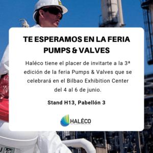 Haleco | Visita Haleco en Pumps & Valves