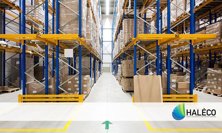Estanterías industriales para almacenes