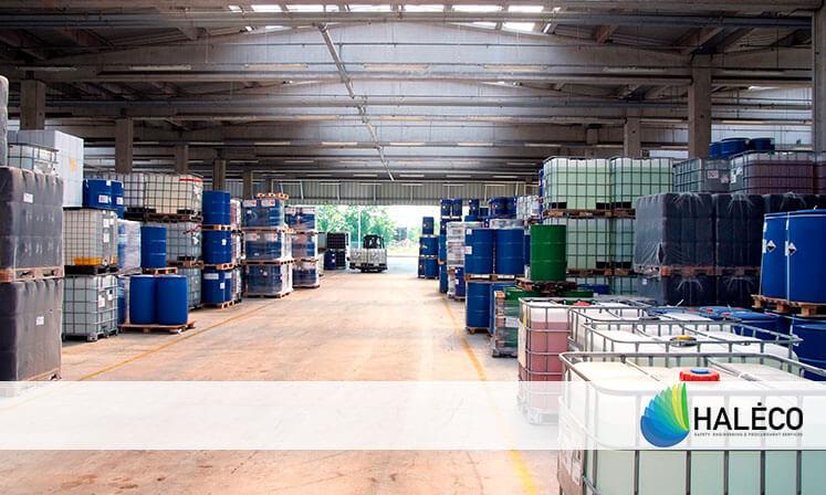 Haleco   Almacenamiento de productos químicos