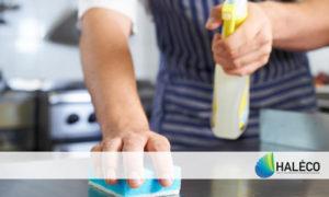 Limpieza y desinfección de superficies - Haleco