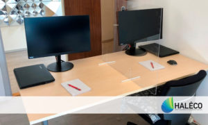 Medidas de seguridad en oficinas - Haleco