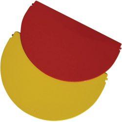Tapa color Rojo  para cubeta de 9 L