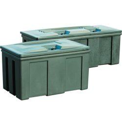 Caja estanca y con cerradura para almacenamiento