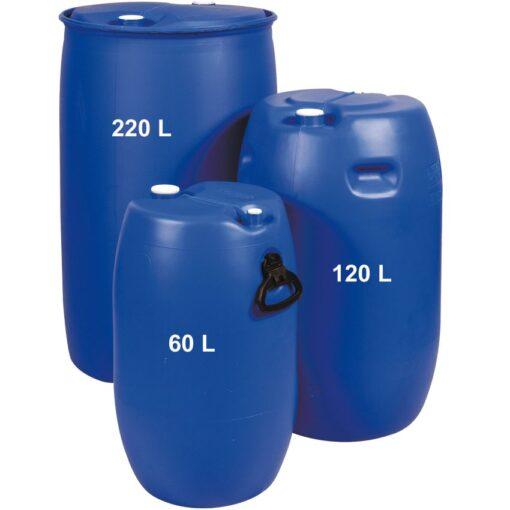Barril de transporte en polietileno con tapón, 60 litros 1