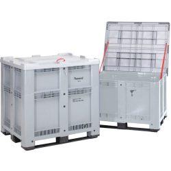 Caja palet con homologación ADR, 930 L, 120 cm x 100 cm x 115 cm