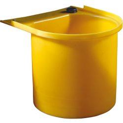 Portabidón de polietileno para cubeta de retención 63 cm x 57,5 cm x 47 cm