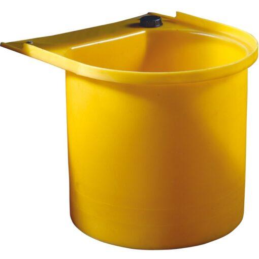 Portabidón de polietileno para cubeta de retención 63 cm x 57,5 cm x 47 cm 1