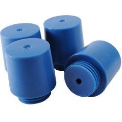 Pies de polietileno para armario de seguridad para productos corrosivos