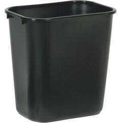 Papelera plástico flexible color  Negro para recogida selectiva 26,5 L, 26 cm x 36,5 cm x 38 cm