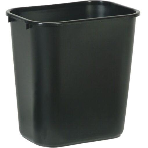 Papelera plástico flexible color  Negro para recogida selectiva 26,5 L, 26 cm x 36,5 cm x 38 cm 1