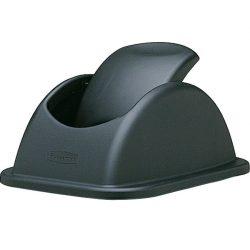 Tapa basculante color Negro  para papelera plástico 26 L