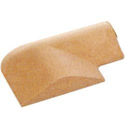 Bordillo de retención permanente en  ángulo 25 cm x 29 cm x 6 cm