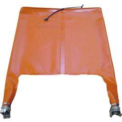 Boca de inspección Ø 60 cm, 2 mangos racor simétrico Ø 50