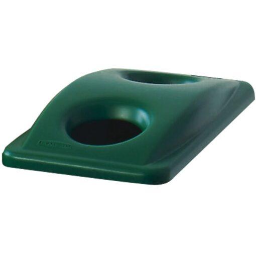SLIM JIM Tapa apertura botellas/latas para papeleras Color Verde 29 cm x 52 cm x 7 cm 1