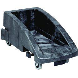 SLIM JIM  Carro de plástico color Gris conectable para papeleras  38 cm x 59,5 cm x 27,5 cm