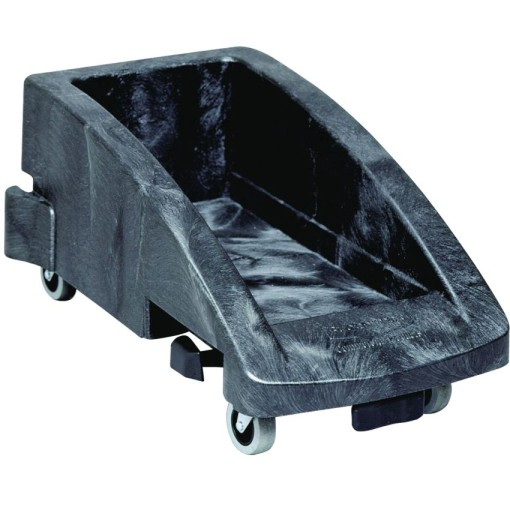 SLIM JIM  Carro de plástico color Gris conectable para papeleras  38 cm x 59,5 cm x 27,5 cm 1