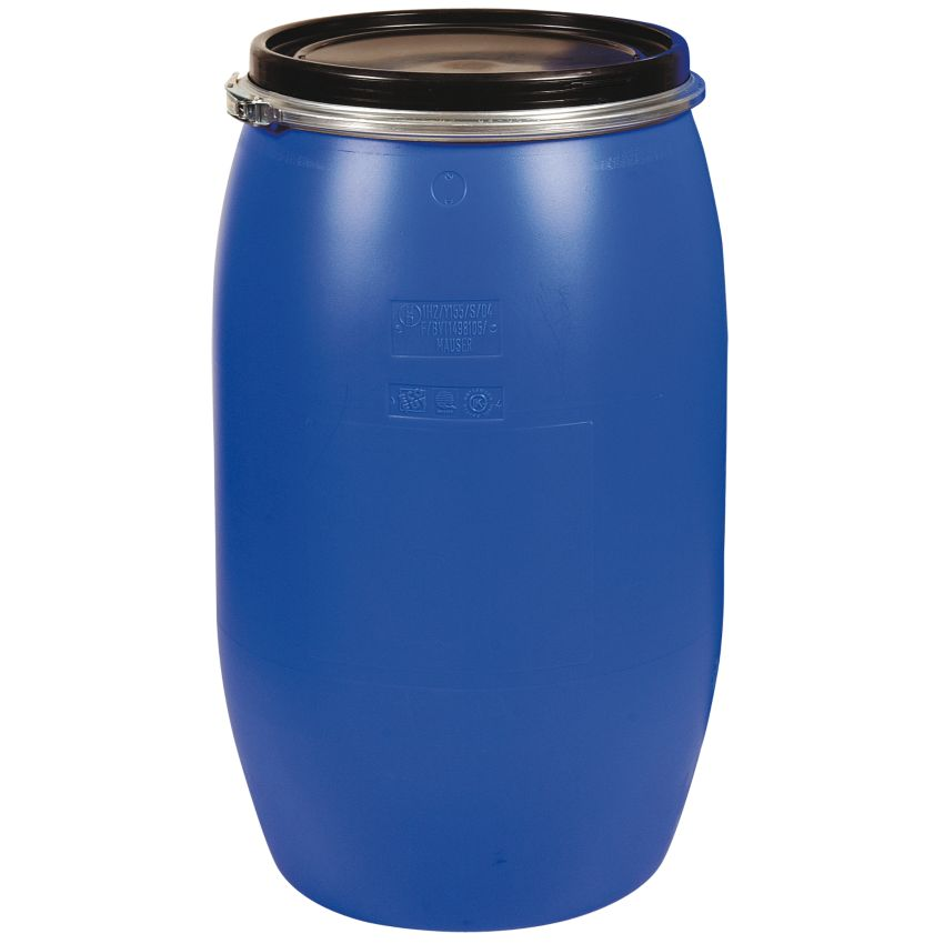 Bid n de transporte en polietileno con apertura total 120 for Bidones para agua